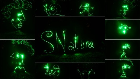 snaturacollagelightpaintinglaser